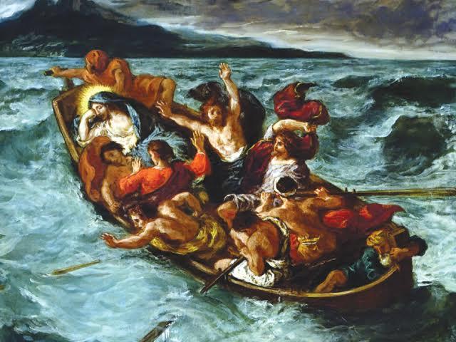 Jesus Calms The Storm Picture