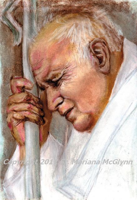 ON SALE - Pope John Paul II Magnet ***BUYONEGETONEFREE***