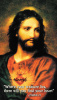 Sacred Heart of Jesus Prayer Card