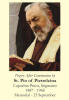 St. Padre Pio Prayer After Communion Card