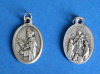 Our Lady of the Rosary Medal w/ St. Dominic