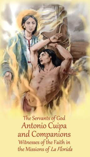 Servants of God Antonio Cuipa and Companions Prayer Card