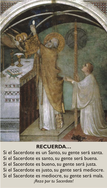 *SPANISH* Prayer for Priests Prayer Card