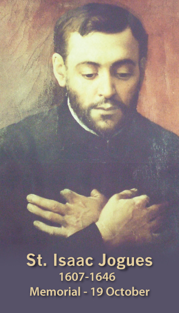 St. Isaac Jogues Prayer Card