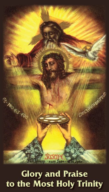 Good Friday *BILINGUAL* Glory Be Prayer Card (English/Spanish)