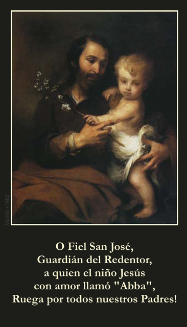 *SPANISH* Father's Day Prayer Card