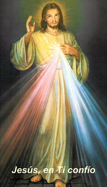 *SPANISH* Divine Mercy Chaplet Prayer Card(FOR THOSE UNABLE TO ATTEND MASS)***ONEFREECARDFOREVERYCAR