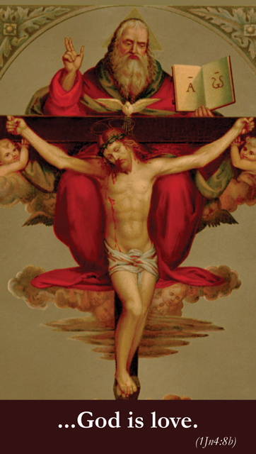 Good Friday Act of Charity Prayer Card