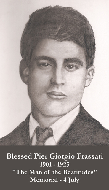 Blessed Pier Giorgio Frassati Prayer Card