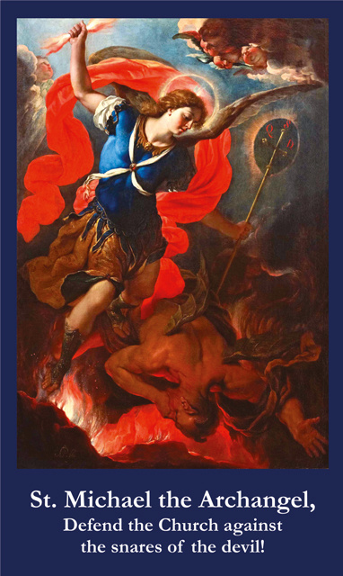 St. Michael Prayer for Divine Protection of the Church