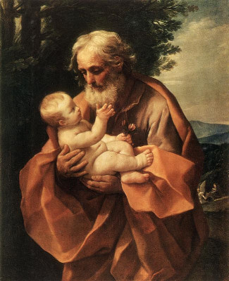 *LARGE* St. Joseph Novena Prayer Card