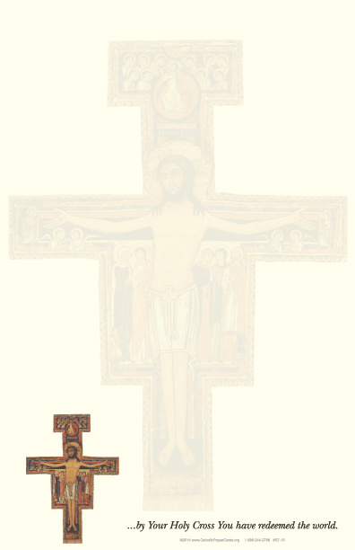 San Damiano Crucifix Stationery