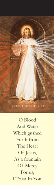 Divine Mercy Chaplet Bookmark