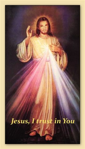 Divine Mercy Chaplet Prayer Card