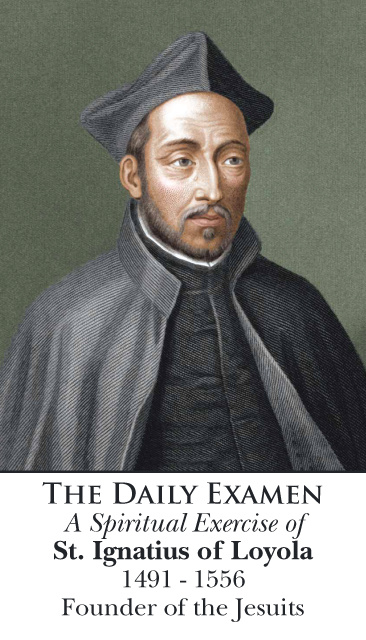 Lenten St. Ignatius of Loyola - Daily Examen Prayer Card