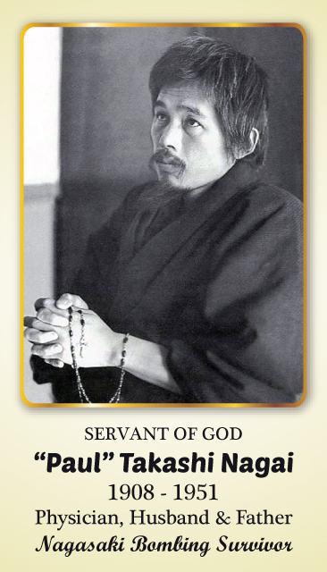 "Servant of God - ""Paul"" Takashi Nagai Prayer Card"