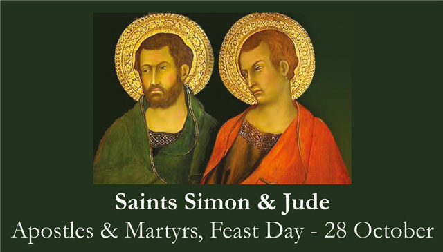 Sts. Simon & Jude Prayer Card