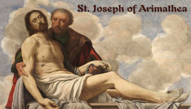 St. Joseph of Arimathea Prayer Card
