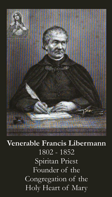 Venerable Francis Libermann Prayer Card