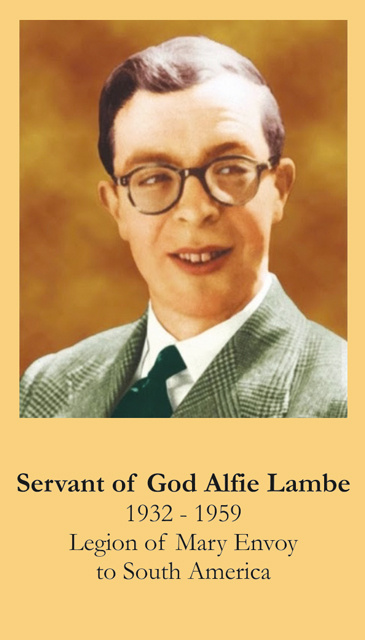 Servant of God Alfie Lambe Prayer Card