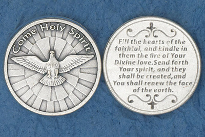 Holy Spirit Pocket Coin***BUYONEGETONEFREE***