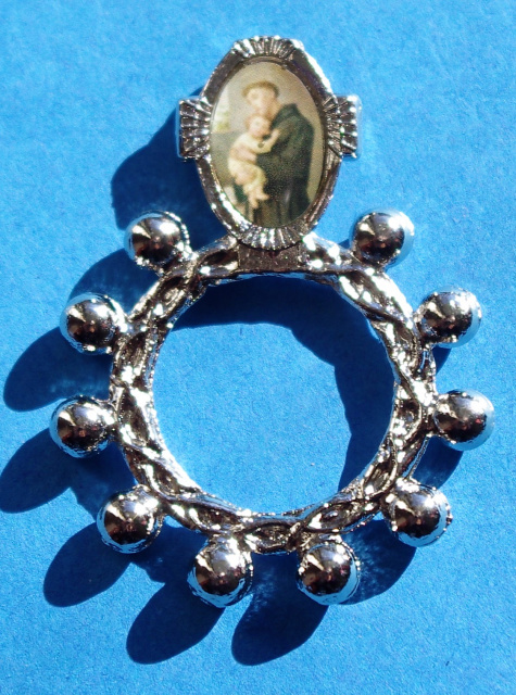 St. Anthony Rosary Ring