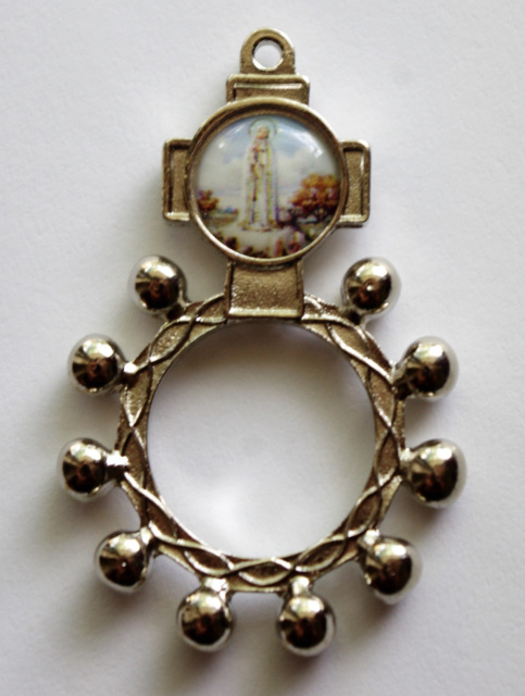 Our Lady of Fatima Rosary Ring