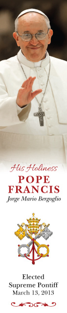 Special Limited Edition Commemorative Pope Francis Bookmark