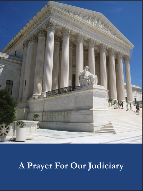 Prayer for our Judiciary Holy Card