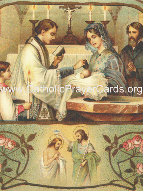 Prayer for the Baptism of a Child (LARGE)