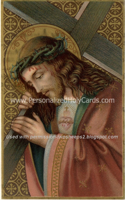 Good Friday ***SPANISH***Miracle Prayer Card