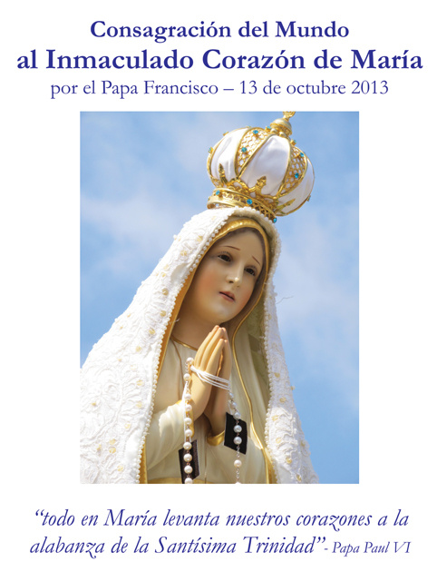 *SPANISH* Consecration to the Immaculate Heart of Mary (LARGE)