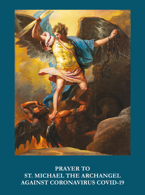 St. Michael Prayer Against Coronavirus***ONEFREECARDFOREVERYCARDYOUORDER***