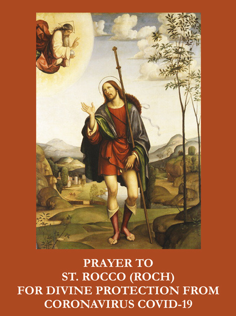 Prayer to St. Rocco Against Coronavirus***ONEFREECARDFOREVERYCARDYOUORDER***