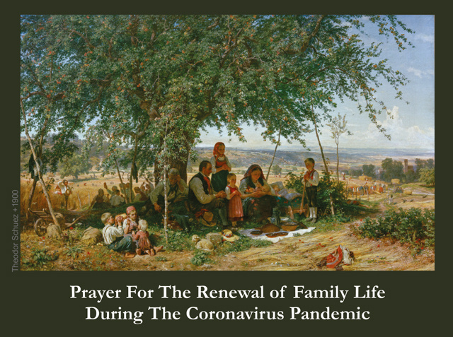 Prayer for Renewal of Family Life During Coronavirus Pandemic***ONEFREECARDFOREVERYCARDYOUORDER***