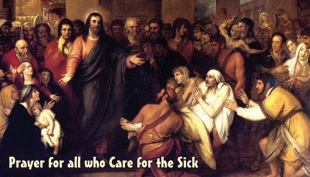 Prayer for All Those Who Care for the Sick Holy Card***ONEFREECARDFOREVERYCARDYOUORDER***