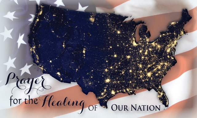 Prayer for the Healing of Our Nation***BUYONEGETONEFREE***