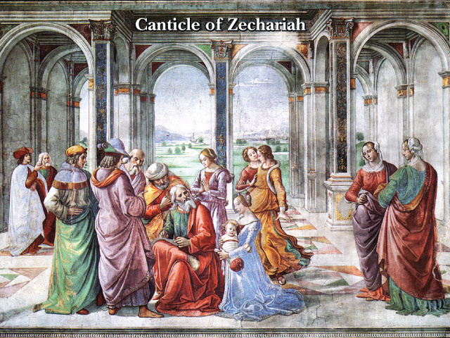 Canticle of Zechariah (LARGE)