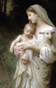 Mary, Our Mother Evangelization Holy Card