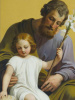 Hymn to St. Joseph Holy Card