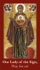 Our Lady of the Sign Prayer Card***BUYONEGETONEFREE***