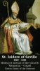St. Isidore of Seville Prayer Card