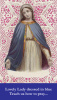 Lovely Lady Dressed in Blue Prayer Card***BUYONEGETONEFREE***