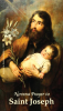 St. Joseph Novena Prayer Card-PATRON OF TEACHERS***BUYONEGETONEFREE***
