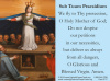 Sub Tuum Praesidium and St. Michael Prayer Card for the Church in Crisis***BUYONEGETONEFREE***