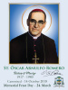 Special Limited Edition Collector's Series Commemorative Archbishop Oscar Romero Canonization Magnets