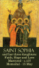 St. Sophia & her 3 Daughters Prayer Card