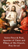 Saints Peter & Paul Prayer Card