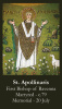 St. Apollinaris Prayer Card