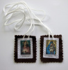 Sacred Heart & Our Lady of Mt. Carmel Fabric Scapular